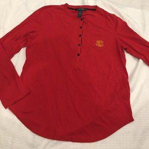 Lauren Ralph Lauren red shirt